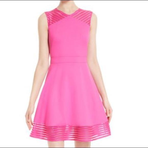 04afa3c11 Ted Baker Eleese fuchsia dress size 8-NWT